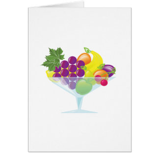 Tarjeta Ensalada de fruta