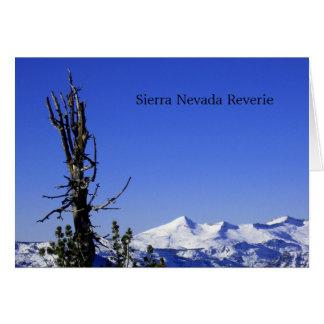 Tarjeta Ensueño de Sierra Nevada
