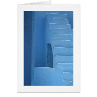 Tarjeta Entrada azul