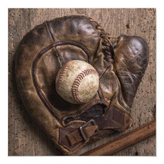 Tarjeta Equipo de béisbol del vintage