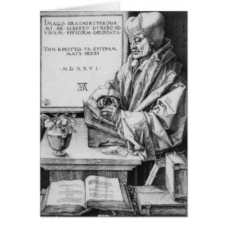 Tarjeta Erasmo de Rotterdam, 1526