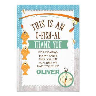 Tarjeta Es cumpleaños de O-Fish_Al le agradece cardar