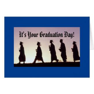 Tarjeta ¡Es su día de graduación!