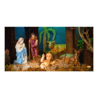 Tarjeta Escena de la natividad