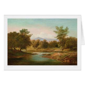 Tarjeta Escena del río de Carmel (0236A)