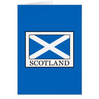 Tarjeta Escocia