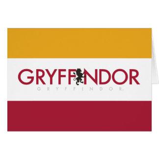 Tarjeta Escudo del orgullo de la casa de Harry Potter el |