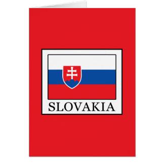 Tarjeta Eslovaquia