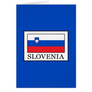 Tarjeta Eslovenia
