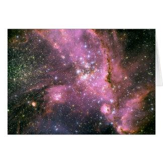 Tarjeta Espacio del cúmulo de estrellas NGC 346 Hubble