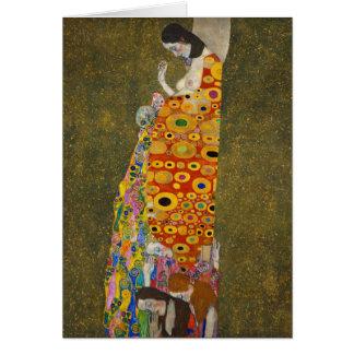 Tarjeta Esperanza II Gustavo Klimt