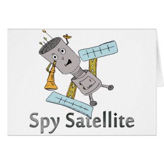 Tarjeta Espía en el cielo