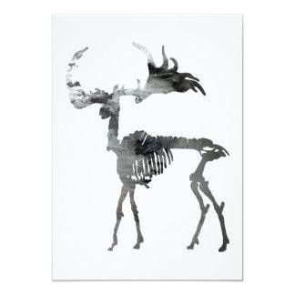 Tarjeta Esqueleto irlandés de los alces