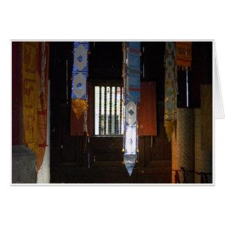 Tarjeta Esquina del templo