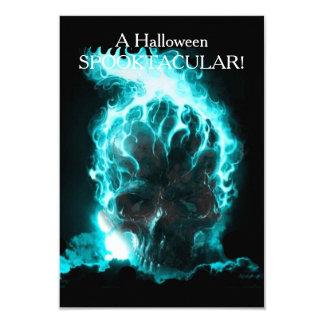 Tarjeta Está alcanzando hacia fuera Halloween invita