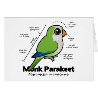 Tarjeta Estadísticas del Parakeet del monje