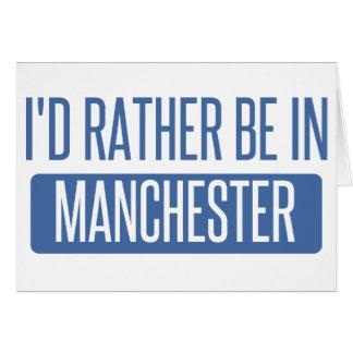 Tarjeta Estaría bastante en Manchester