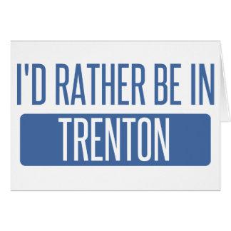 Tarjeta Estaría bastante en Trenton