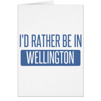 Tarjeta Estaría bastante en Wellington