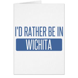 Tarjeta Estaría bastante en Wichita