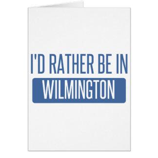 Tarjeta Estaría bastante en Wilmington DE