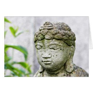 Tarjeta Estatua de Buda