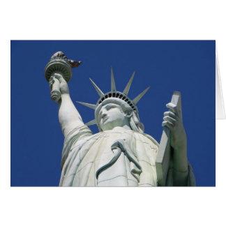 Tarjeta Estatua de la libertad