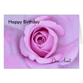Tarjeta Estimada tía del feliz cumpleaños