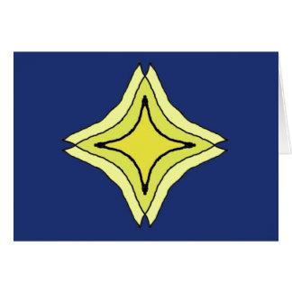 Tarjeta Estrella de la trinidad