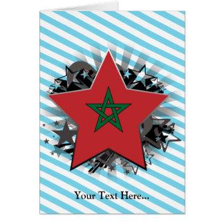 Tarjeta Estrella de Marruecos
