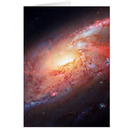 Tarjeta Estrellas del universo de la vía láctea del