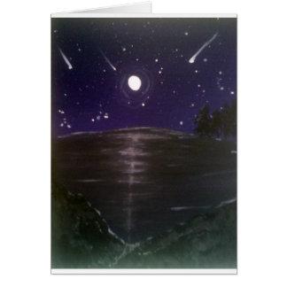 Tarjeta Estrellas fugaces