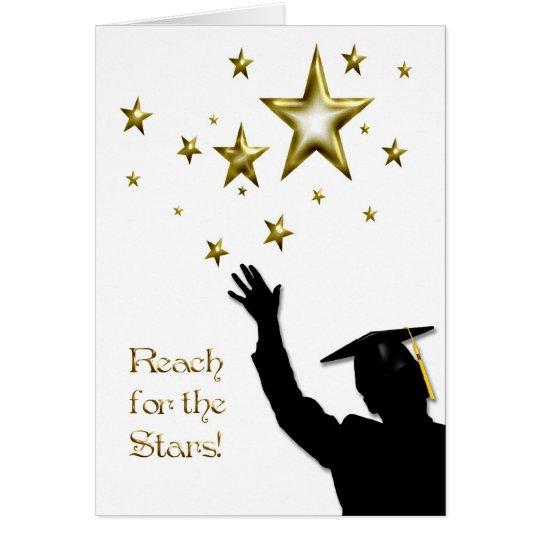 Tarjeta Estrellas graduadas del varón