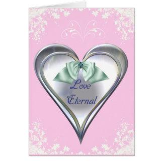 Tarjeta eterna del amor