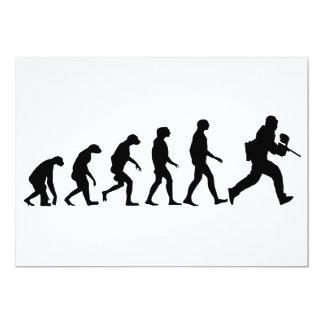 Tarjeta Evolución de Paintball
