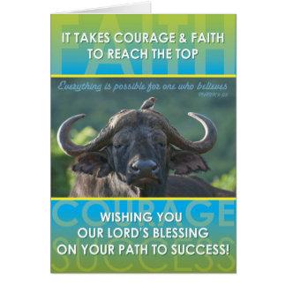 Tarjeta Éxito del búfalo