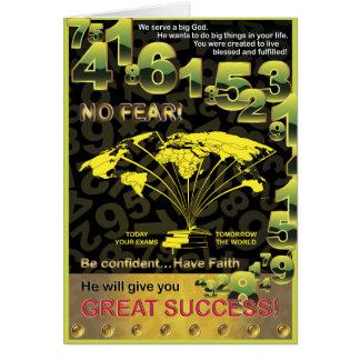 Tarjeta Éxito global