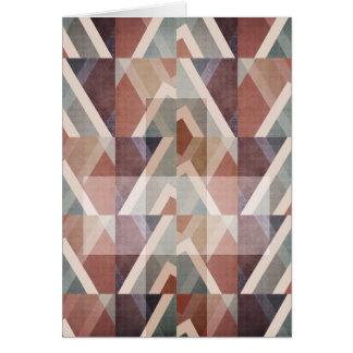 Tarjeta Extracto geométrico texturizado