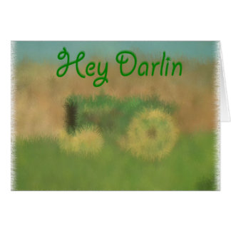 Tarjeta Ey Darlin