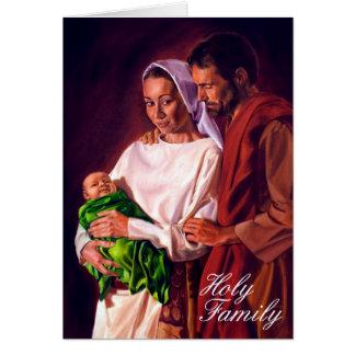 Tarjeta Familia santa