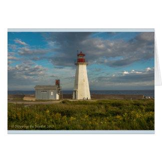 Tarjeta Faro principal occidental - Nueva Escocia