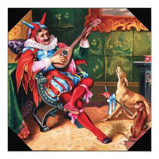 Tarjeta Favorite Jester Invitation del rey