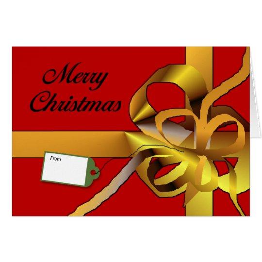 Tarjeta Felices Navidad