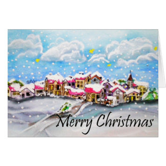 Tarjeta ¡Felices Navidad!