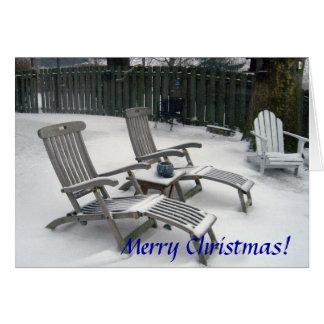 Tarjeta Felices Navidad de Cleveland, Ohio