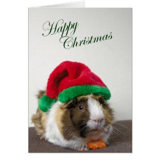 Tarjeta Felices Navidad de desaliñado