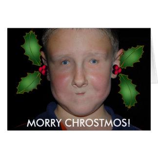 Tarjeta Felices Navidad de Jommy