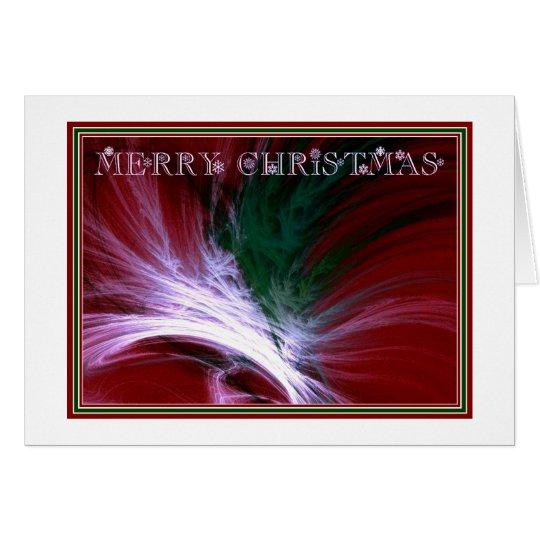 Tarjeta Felices Navidad del ~ de la NIEVE del NAVIDAD
