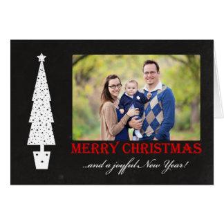 Tarjeta Felices Navidad/foto alegre del Año Nuevo 4