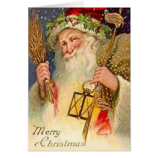Tarjeta Felices Navidad, navidad del padre